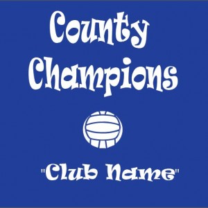 County Champs Football Template