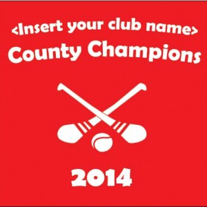 County Champs Hurling Template