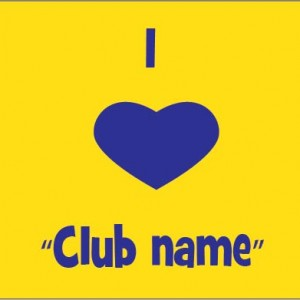 I love Club template