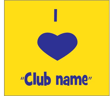 I love Club template