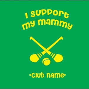 i support mammy camogie baby clothes