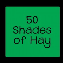 50 shades of hay personalised baby clothes