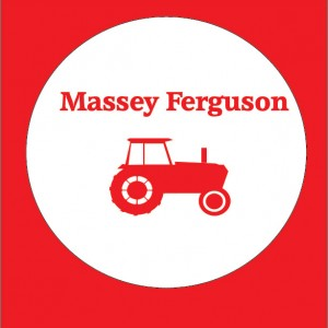 massey ferguson farming personalised baby clothes
