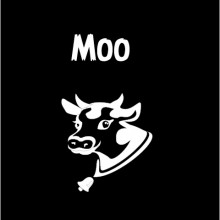 farming moo personalised baby clothes