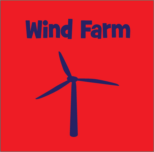 personalised baby clothes wind farm