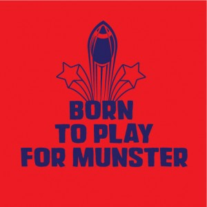 born to play for munster personalised baby clothes