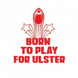 personalised rugby baby clothes born to play ulster