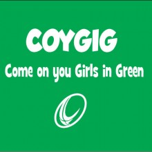 coygig come on you girls in green rugby ireland