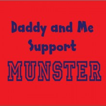 Support Munster Rugby daddy and me