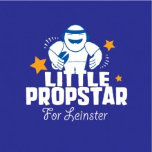 personalised baby clothes leinster little propstar
