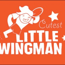 cutest little wingman personalised baby clothes