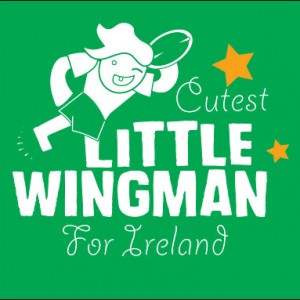 cutest little wingman for Ireland