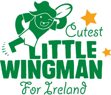 little wing man for ireland personalised baby clothes