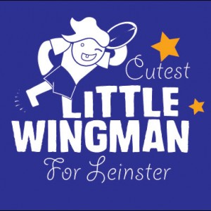 little wing man for leinster personalised baby clothes