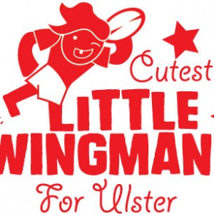 Wingman Ulster Rugby personalised baby clothes