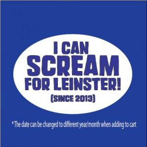 Scream Leinster Rugby