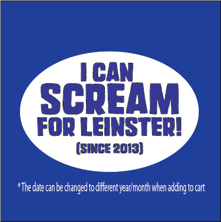 Scream Leinster Rugby