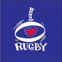 Love Rugby Leinster -personalised rugby baby clothes