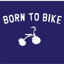 born to bike personalised baby clothes