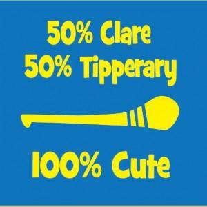 100% Cute GAA club and county