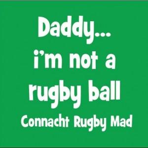 Not a rugby ball Connacht