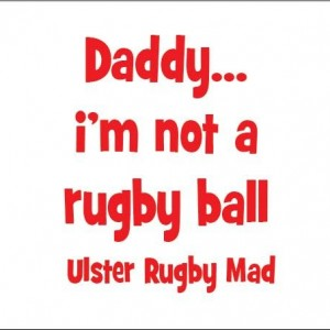 Not a rugby ball Ulster Rugby