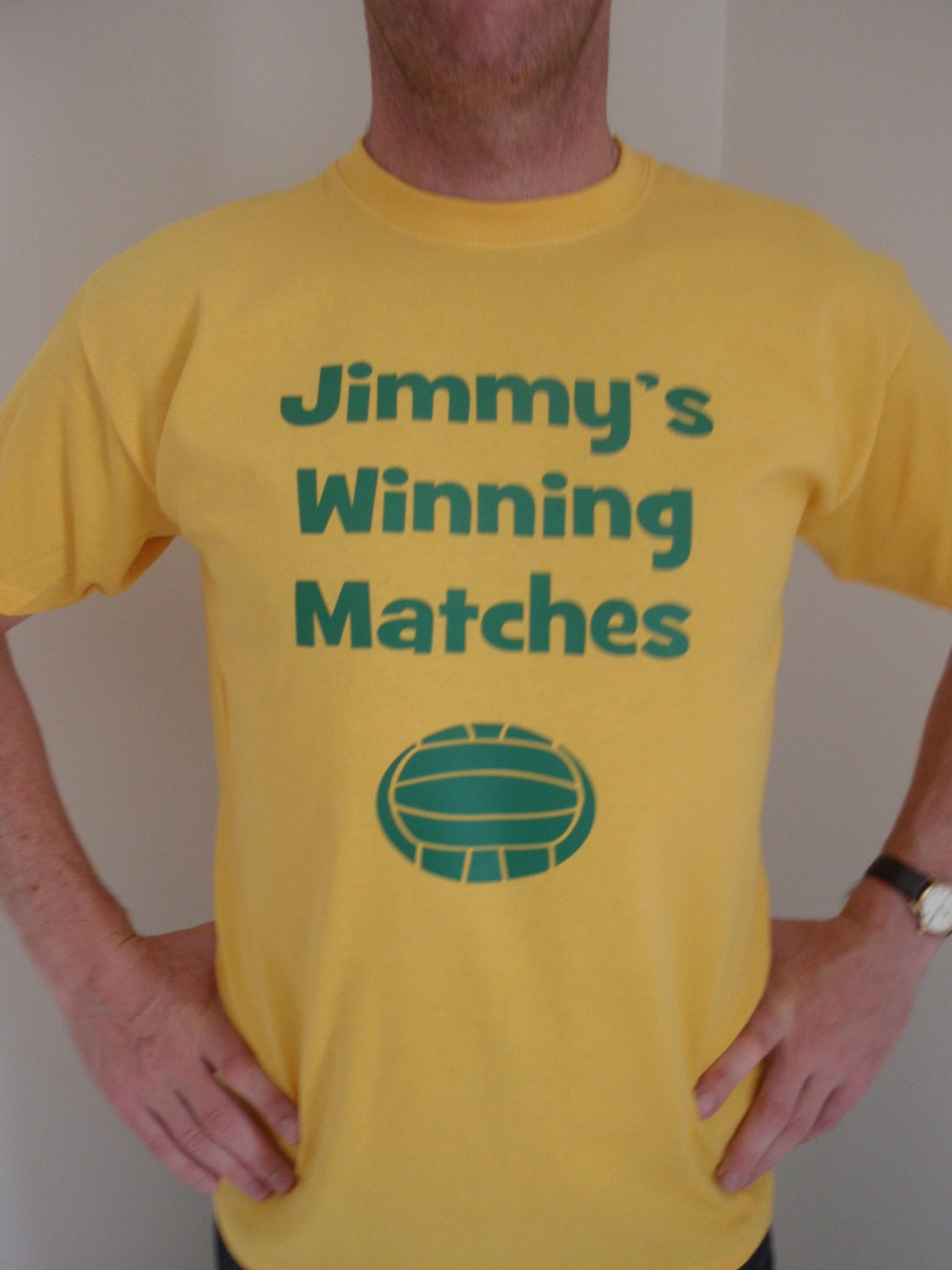 jimmy's winning matches