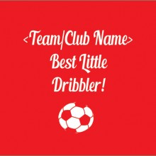 best little dribbler soccer baby clothes