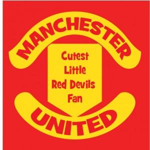 Manchester Cutest little red devils fan baby