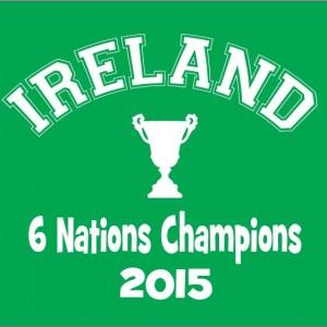 Ireland 6 nations champions baby grow