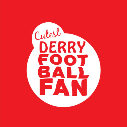 Cutest Derry Football baby cloth
