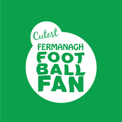 Cutest Fermanagh Football Fan baby cloth