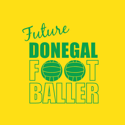Future Donegal Footballer baby cloth