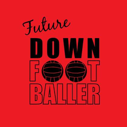 Future Down Footballer baby cloth