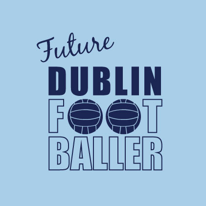 Future Dublin Footballer baby cloth