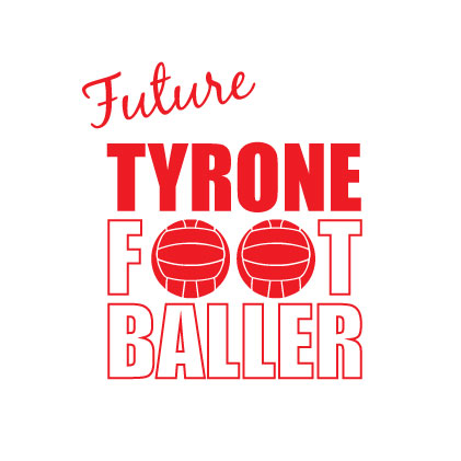 Future Tyrone Footballer baby cloth