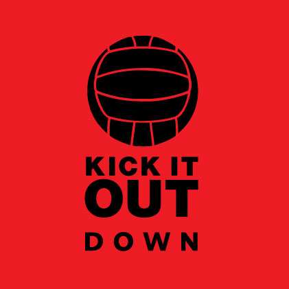 Kick It Out Down Baby cloth