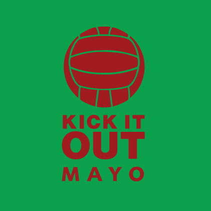 Kick it out Mayo GAA baby cloth