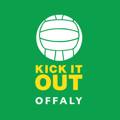 Kick It Out Offaly baby cloth