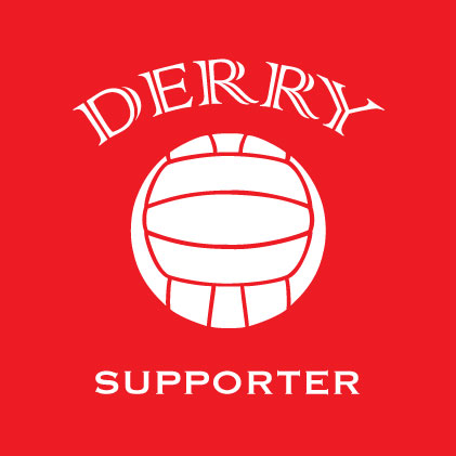 Derry Football Supporter baby cloth