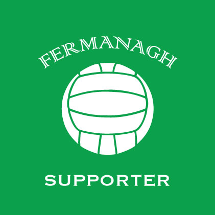 Fermanagh Football Supporter baby cloth