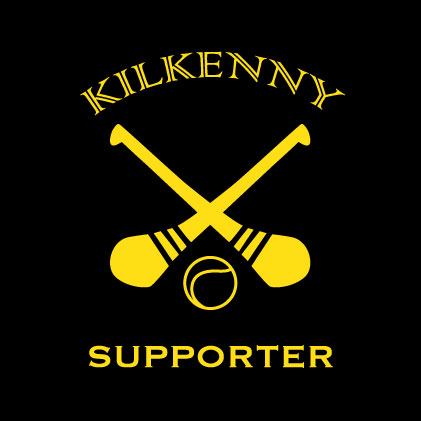 Kilkenny Hurling Supporter baby cloth