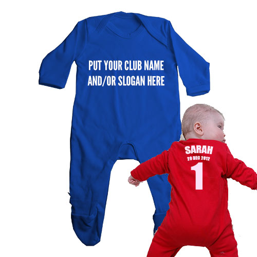 create your own design baby clothes personalised