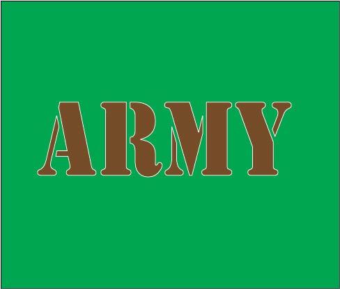 Army baby cloth