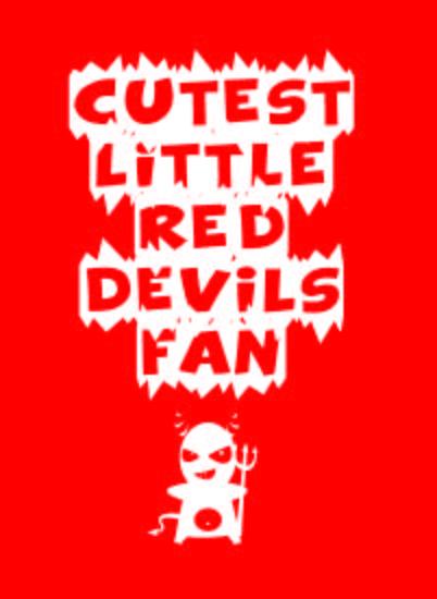 Cutest Little Red Devils Fan