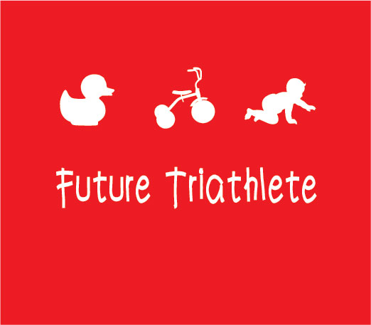 personalised baby clothes future triathlete