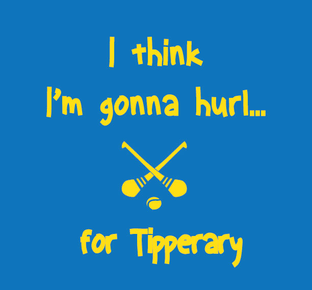 I think I'm gonna hurl Tipperary baby clothes