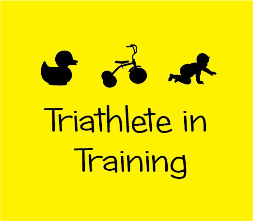 triathlete in training baby clothes tri personalised baby clothes