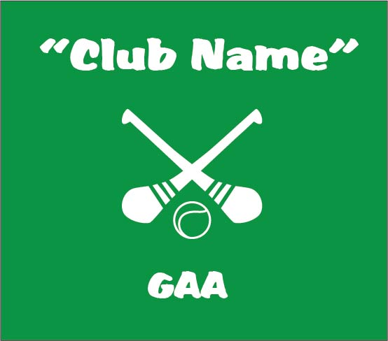 personalised baby clothes gaa club name hurling