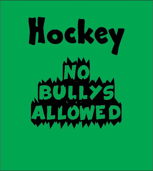 hockey no bullys allowed